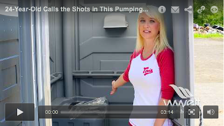 24-Year-Old Calls the Shots in This Pumping Operation