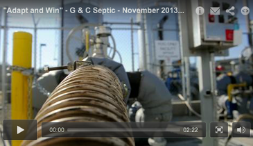 """Adapt and Win"" - G & C Septic - November 2013 Pumper Video Profile"