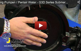Jung Pumpen / Pentair Water - G3D Series Submersible Grinder - 2012 Pumper & Cleaner Expo
