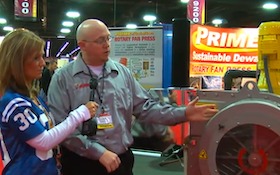 Prime Solutions - 4-channel rotary fan press - Pumper & Cleaner Expo 2011