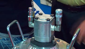 Hydra-Tech Pumps - S4TLP aluminum body 4-inch submersible trash pump