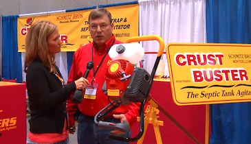 Crust Busters/Schmitz Brothers LLC - Crust Buster septic tank agitator - Pumper & Cleaner Expo
