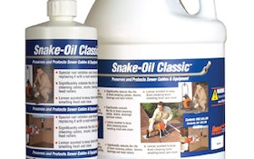 Snake-Oil Classic Preserves and Protects Sewer Cables and Equipment