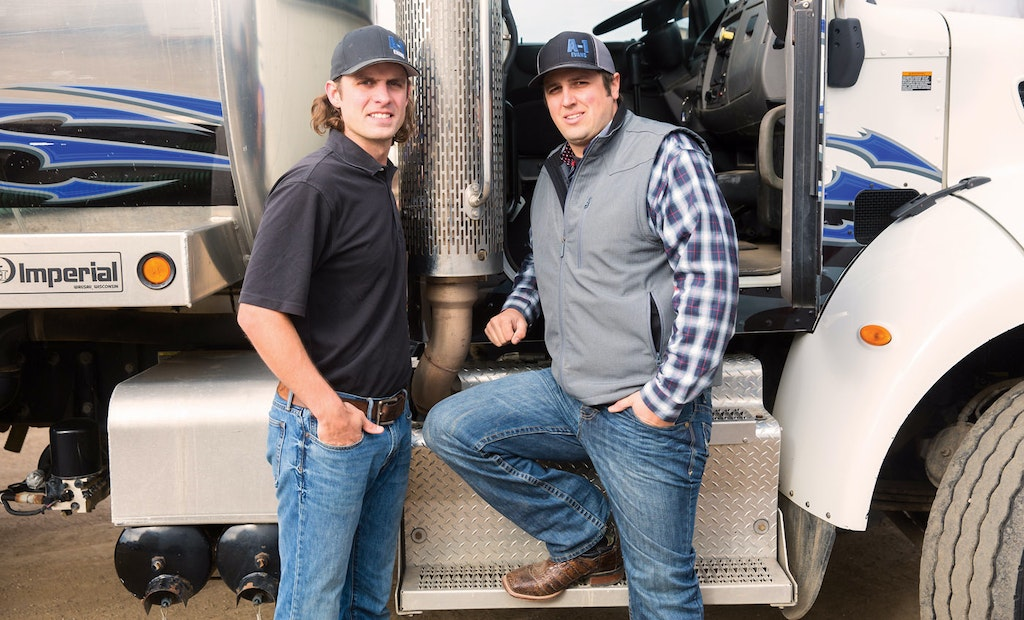 Reid Hanson and Cole Ritter Find a Home in the Wastewater Industry