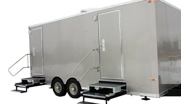 Restroom  Trailer  Spruces Up  Special Events