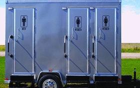 Restroom Trailers - ART Company 1203-W