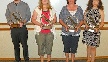 Filtration Equipment Manufacturer Employees Receive Achievement Awards