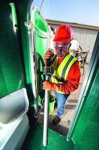 Practice Caution When Servicing Portable Restrooms at Boat Landings