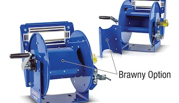 New hose reel option from COXREELS for toughest industry uses