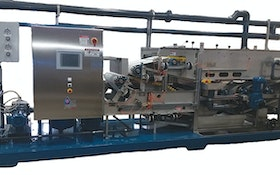 Dewatering Equipment - Bright Technologies 0.6-meter skid-mounted belt filter press