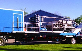 Dewatering Equipment - Bright Technologies belt filter press