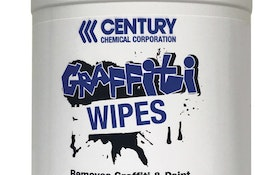 Portable Restroom Cleaning - Century Chemical Graffiti Wipes