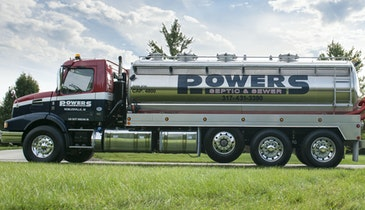 Powers' Classy Truck Also Featured in Volvo Calendar