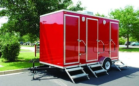 Specialty Trailers - Comforts of Home restroom trailer