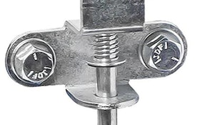 Coxreels pin lock for Challenger Series