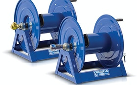 COXREELS swivel options for the 1125 Series