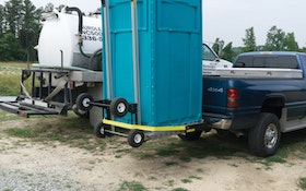 Portable Restroom Movers - Deal Assoc. Hitch Hauler