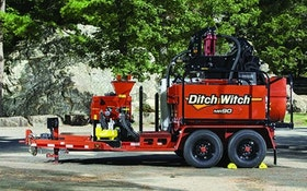 Ditch Witch mud recycler