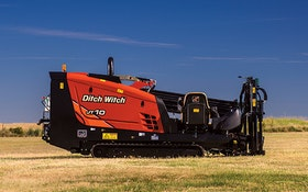 The JT10 horizontal directional drill from Ditch Witch