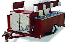 Specialty Trailers - Explorer Trailers - McKee Technologies Explorer hand-wash trailer