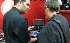 Versatile Camera System Utilizing iPad Display Wows Septic Industry Professionals