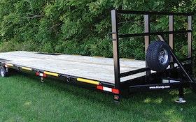 Transport Trailers - F.M. Mfg. 30-foot trailer