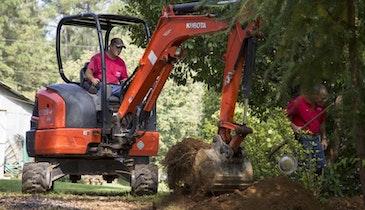 Mini-Excavators Have Big Impact On Septic Business