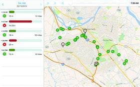 Fleet Management - Cloud-based vehicle tracking system