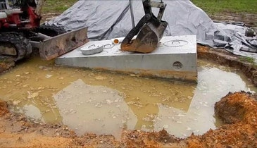 Will the Septic Tank You're Installing Float?