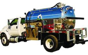 Service Vehicles/Vacuum Tanks - Flowmark Deluxe Model PRT