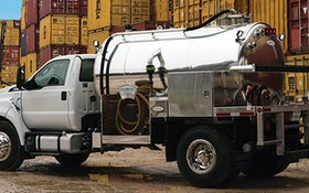 Service Vehicles - FlowMark portable restroom service truck