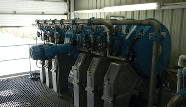 Rotary Press Effectively Replaces Drainage Bag System