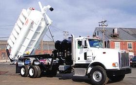 Septic Vacuum Trucks/Tanks - GapVax HV57 High-Dump