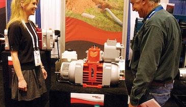 Wittig RFL 102 vacuum pump from Gardner Denver provides high vacuum in smaller footprint