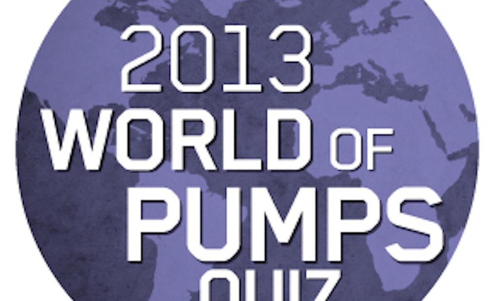 Thousands from 140 countries enter ITT Goulds Pumps' World of Pumps Quiz