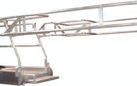 Telescoping ramp gangways from GREEN Access & Fall Protection improve safety