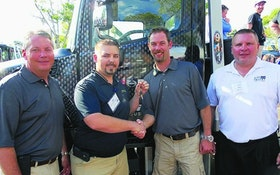 Hino presents tow operator with truck