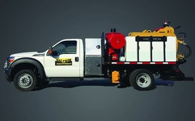 Vac-Tron PTO-driven Hydrovac Truck Offers Midsize Cleaning Option