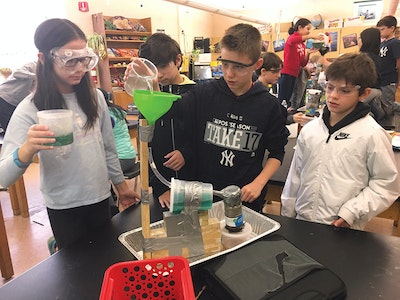 Students Build Septic System Models, Learn Important Wastewater Lessons