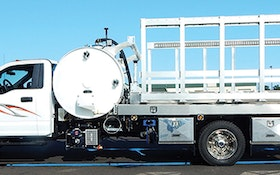 Service Vehicles - Imperial Industries portable restroom service unit