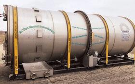 Dewatering Equipment - In The Round Dewatering horizontal drum