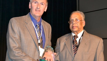 Infiltrator Systems receives Chairman's Award for plastic waste recycling