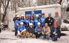 Infiltrator Water Technologies works with Habitat for Humanity