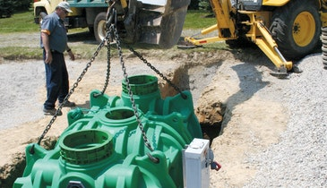 Singulair Green Aerobic Wastewater Treatment System