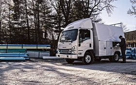Isuzu Commercial Truck of America road-ready Knapheide truck bodies
