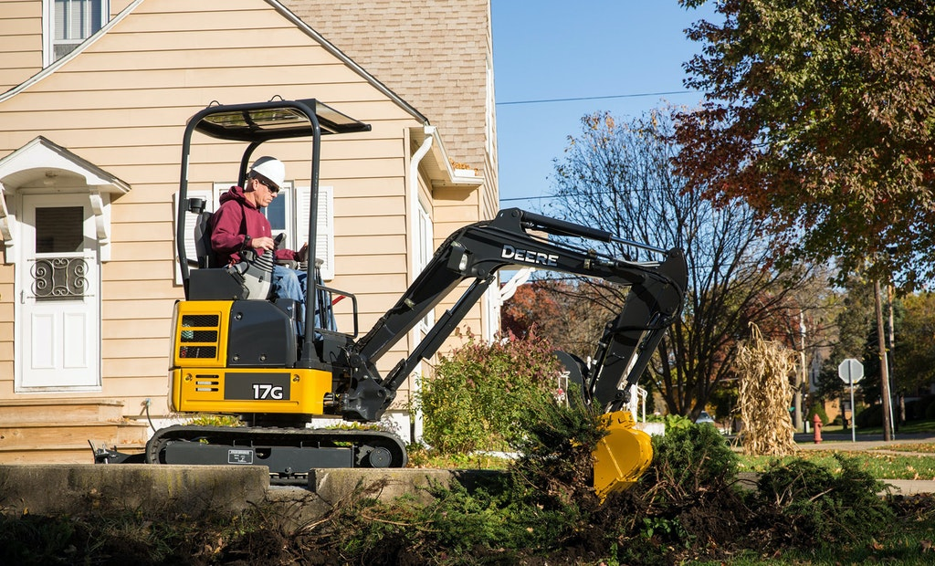 New John Deere Compact Excavators Make a Sizable Impact on the Job Site