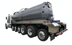 J&J Truck Bodies and Trailers stainless steel tanker