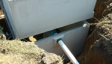 How to Join Seams on Septic Tanks