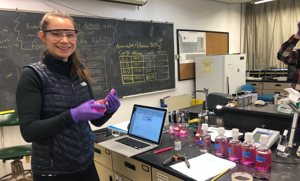 NAWT Scholarship Winner Takes Winding Path to Wastewater Career