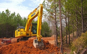 Komatsu hydraulic excavator
